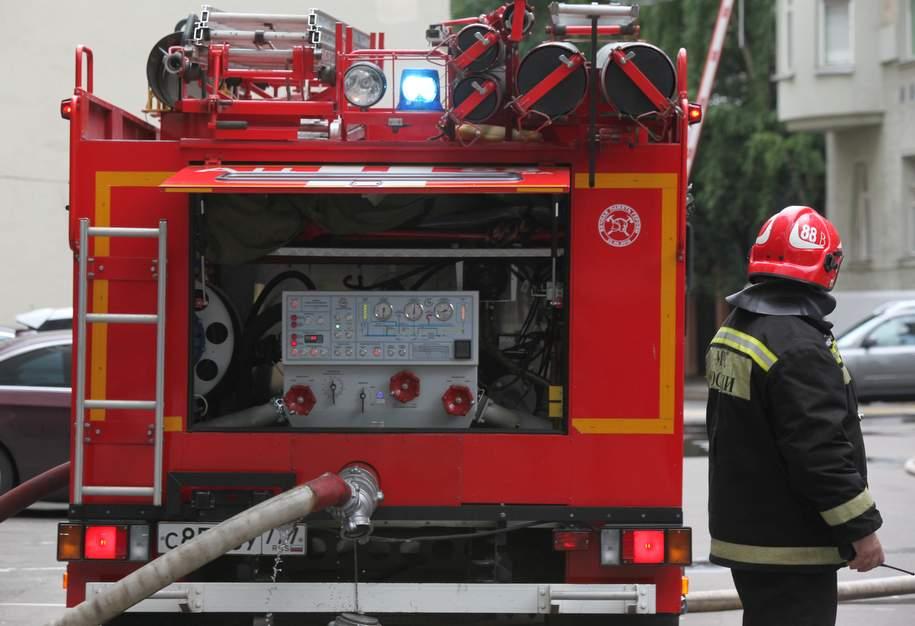 Пожар в ресторане в центре Москвы устранили