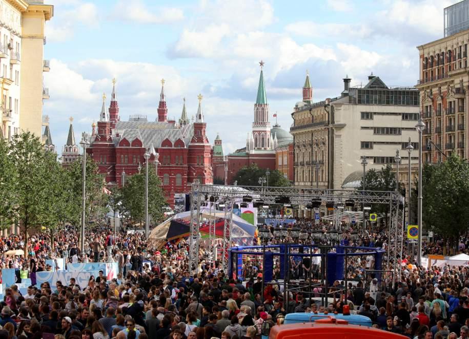 Более 11 миллионов человек посетили День города