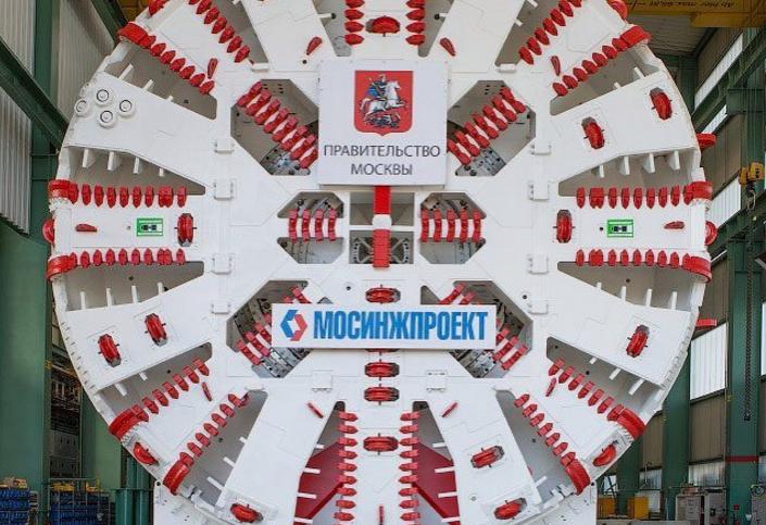 Китайская компания участвует в строительстве московского метро