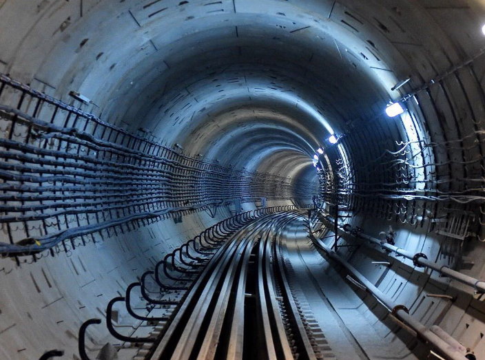 Движение поездов на «фиолетовой» ветке метро введено в график