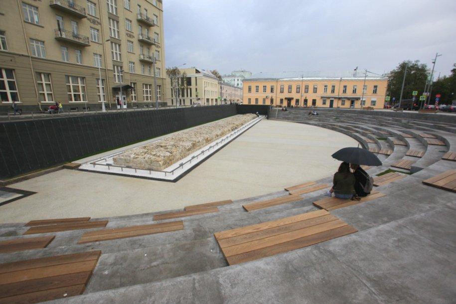 Хохловская площадь после реконструкции