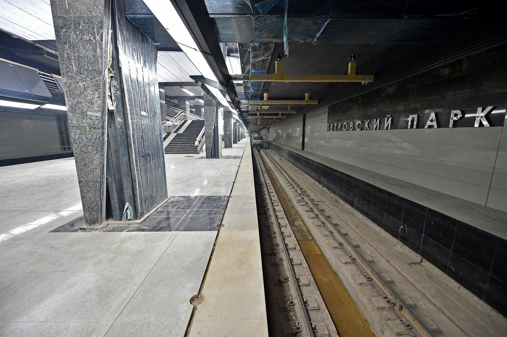 Москвичам провели экскурсию по строящемуся метро