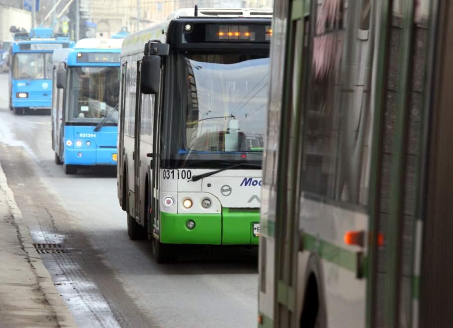На 22-м километре МКАД произошло возгорание в автобусе
