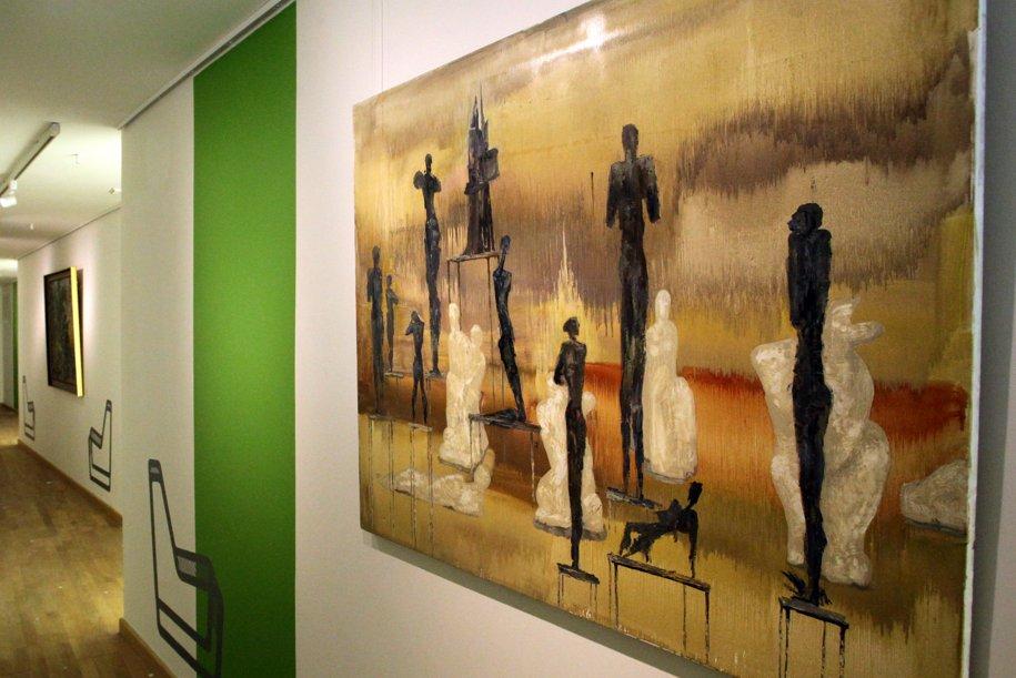Экспонат выставки Музеон: пластика места в музее парка имени Горького