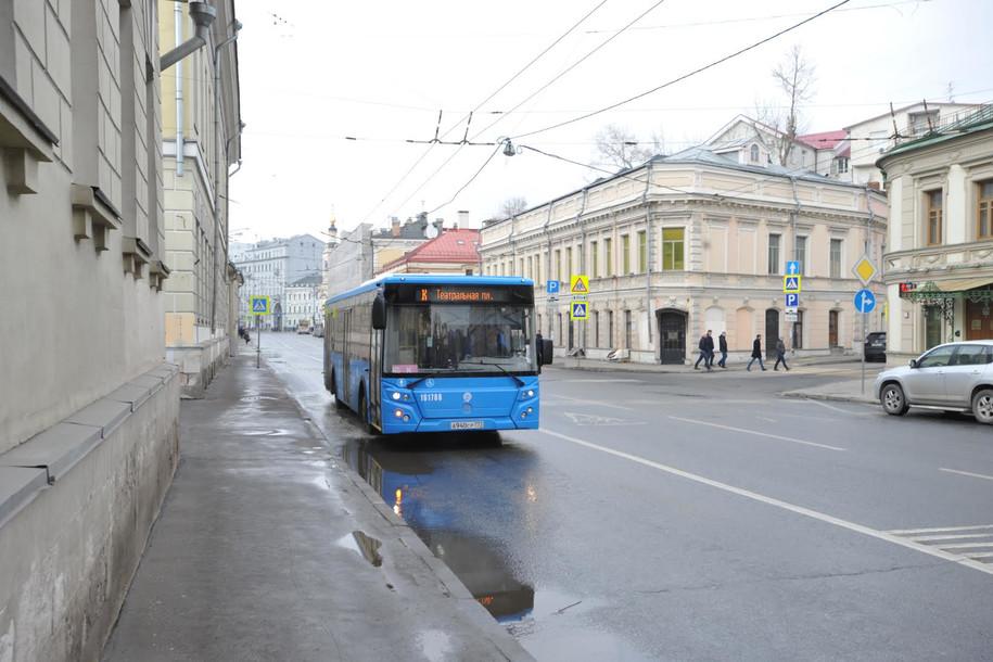 Новые выделенные полосы появятся в российской столице осенью