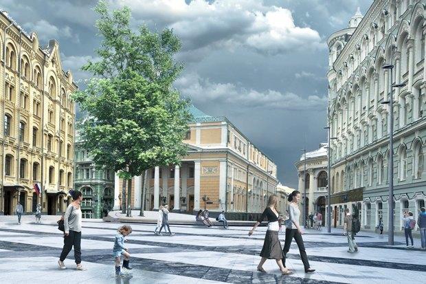 Биржевая площадь станет пешеходной с 23 сентября