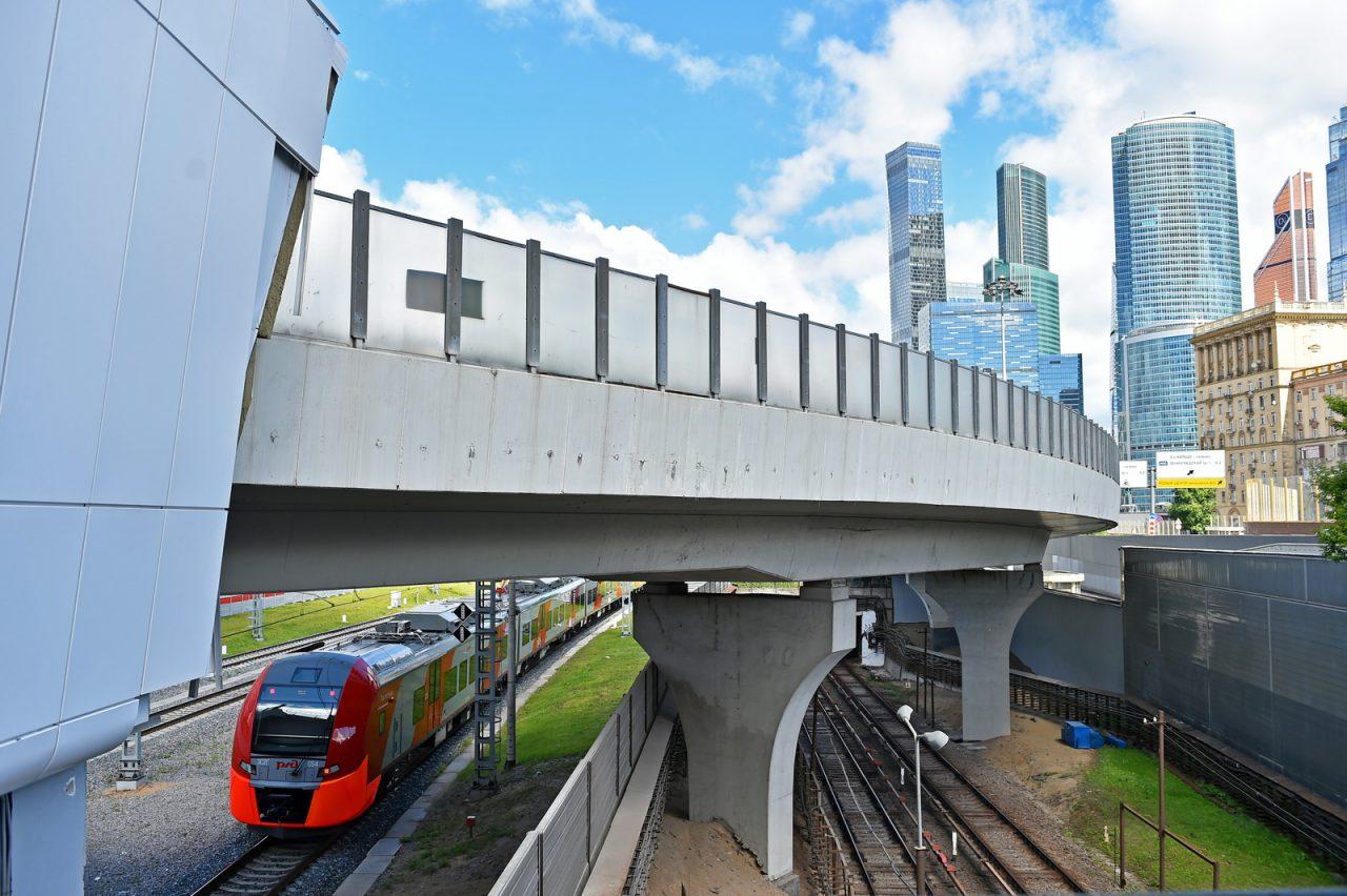На МЦК произошел сбой в движении поездов