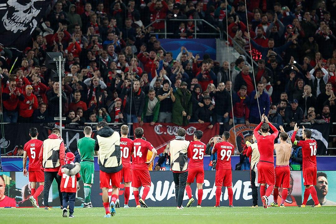 Российские футбольные клубы удачно сыграли в еврокубках