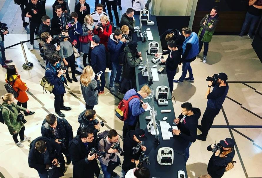 Продажи новых телефонов Apple в Российской Федерации сопоставимы споказателями iPhone 7