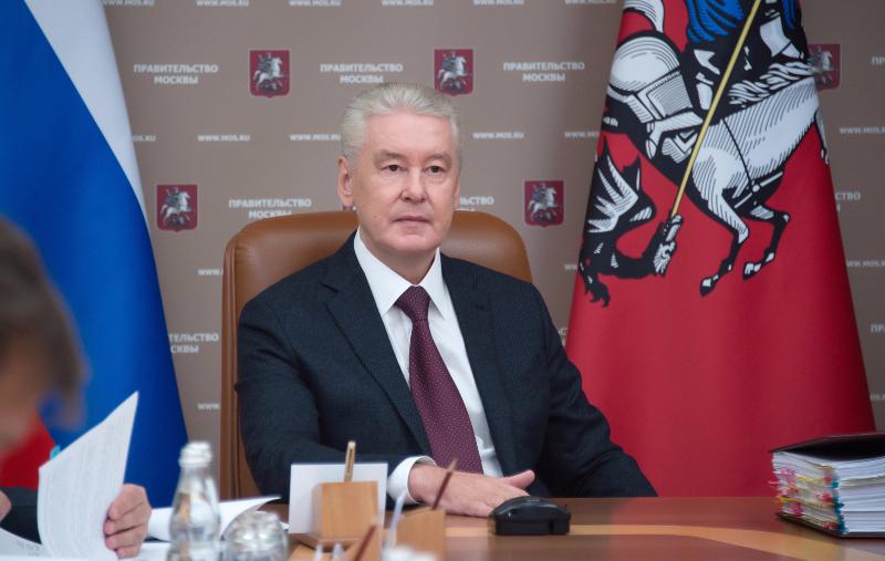 Мэр Сергей Собянин поздравил Москву с юбилеем