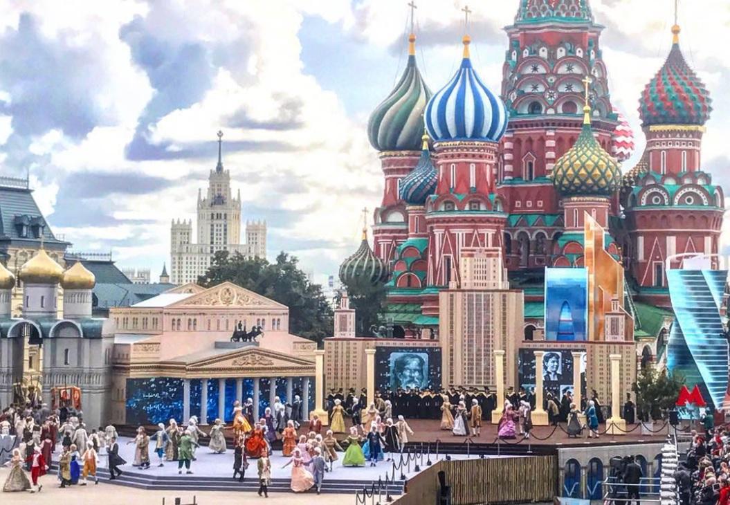 День города начался с концерта на Красной площади