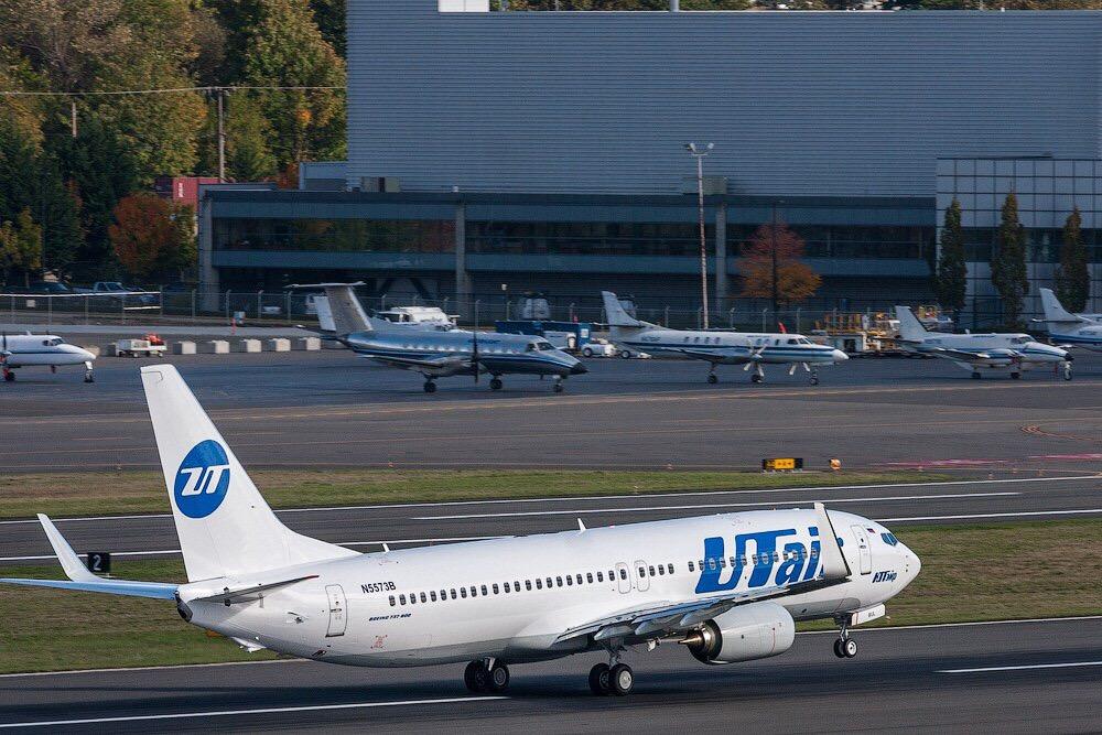 В аэропорту Внуково экстренно приземлился самолёт авиакомпании UTair