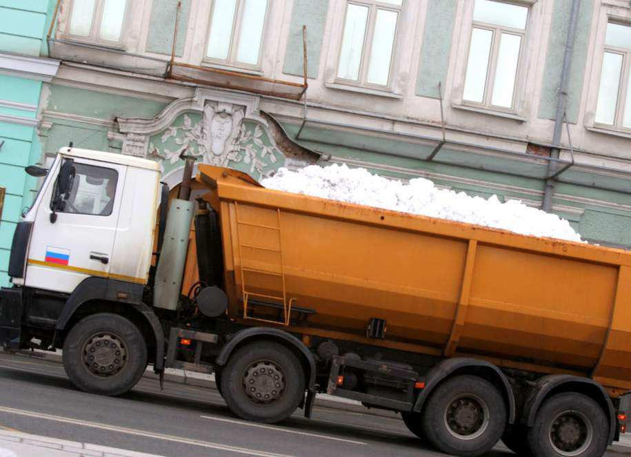 Собственникам зданий напомнили про потребность  чистить  крыши отснега