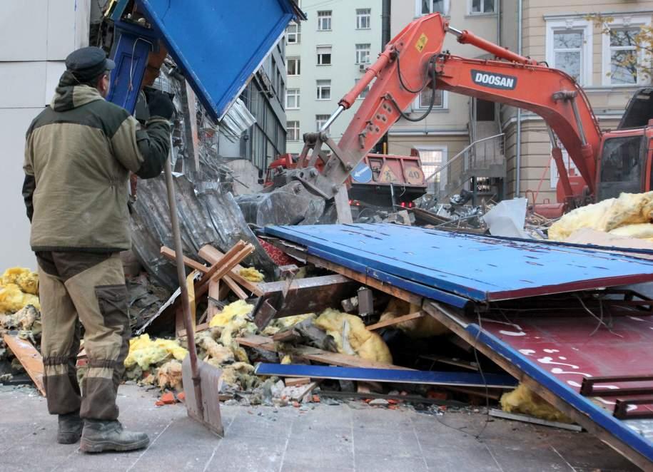 С 2014 года в Москве снесли 4 тысячи объектов самостроя