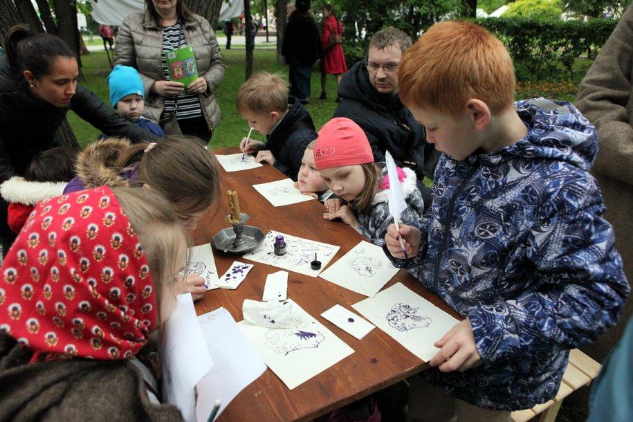 Свыше 100 мастер-классов для детей проведут 11 и 12 июня на фестивале ко Дню России