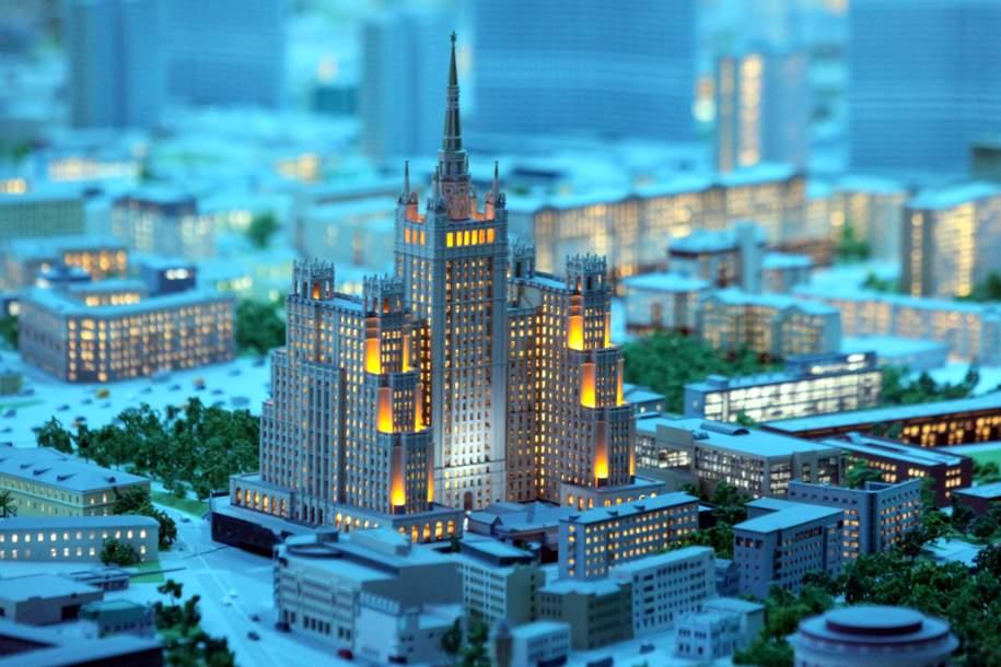 На ВДНХ обновили светотехническое шоу о Москве