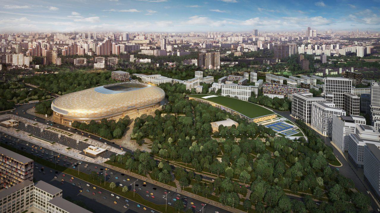 Стадион «Динамо» примет первый матч весной 2018 года