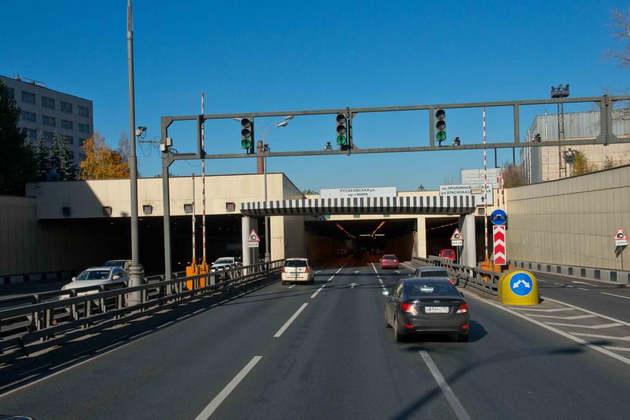 Волоколамский тоннель будет закрыт в течение нескольких ночей