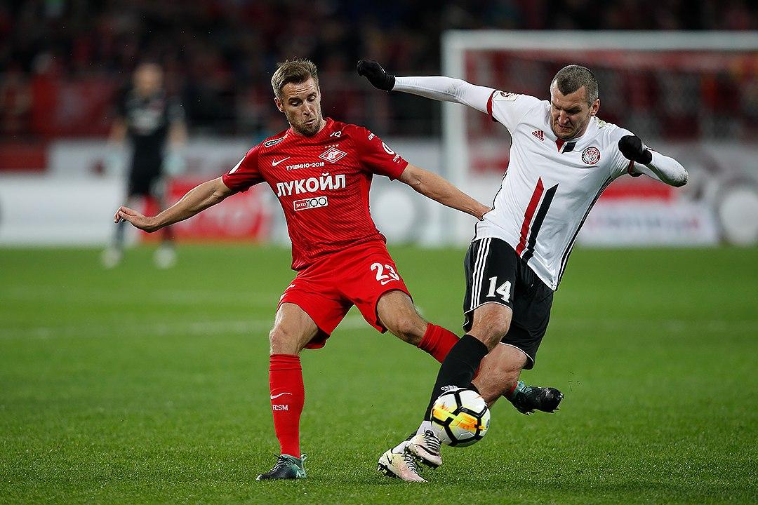 Московский «Спартак» впервые с 2016 года не забил на своей арене