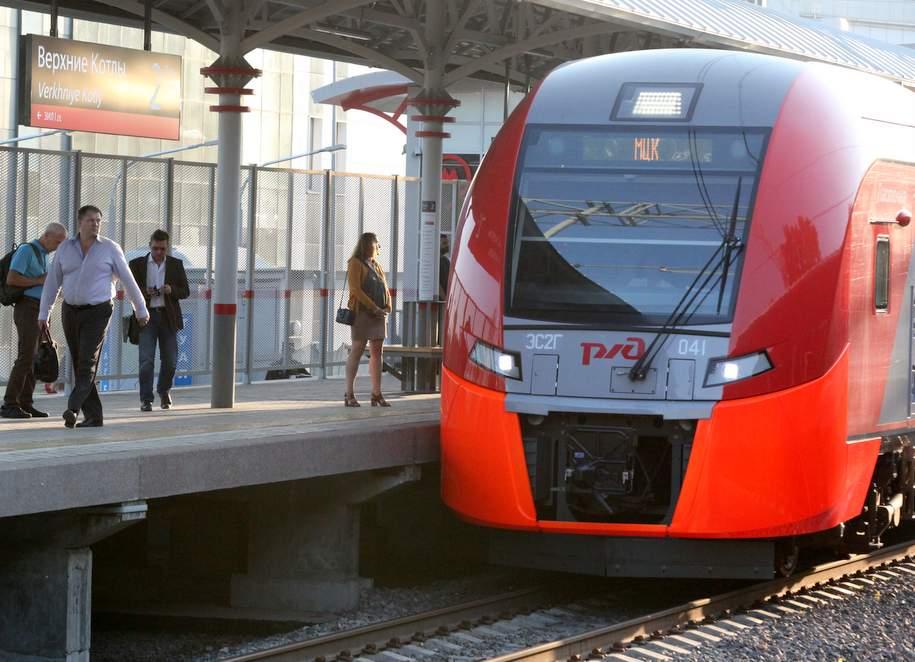Лозунги сграфиком отправления поездов обновили наМосковском основном кольце