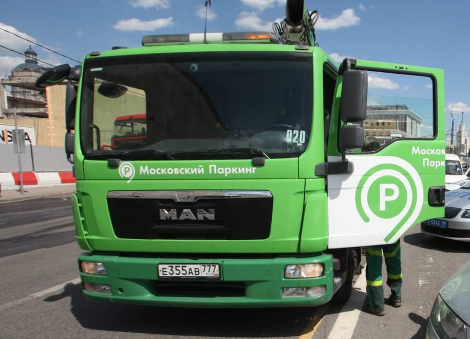 Более 145 тысяч нарушений парковки выявлено в Москве