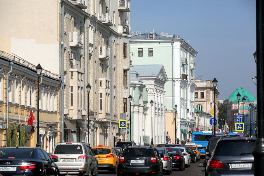 Платный въезд в центр Москвы не планируют вводить