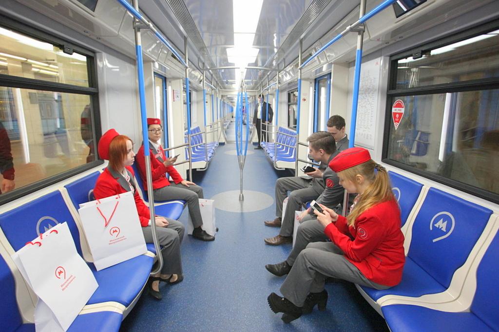 В столичном метро запустили 20-й поезд «Москва»