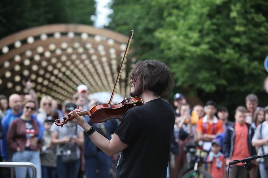 Практически 22 млн человек посетили Парк Горького прошедшим летом