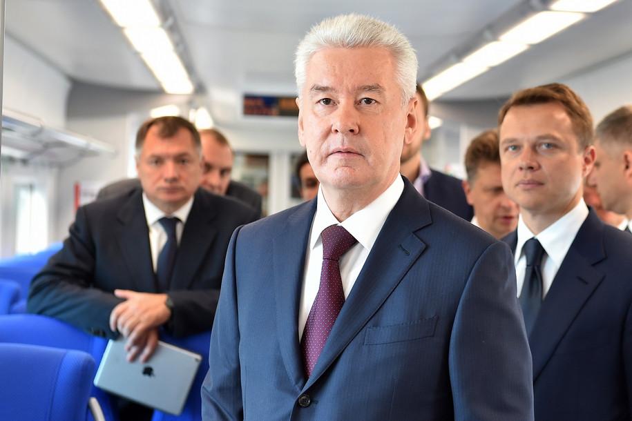 Мэр Москвы поздравил Владимира Путина с юбилелеем