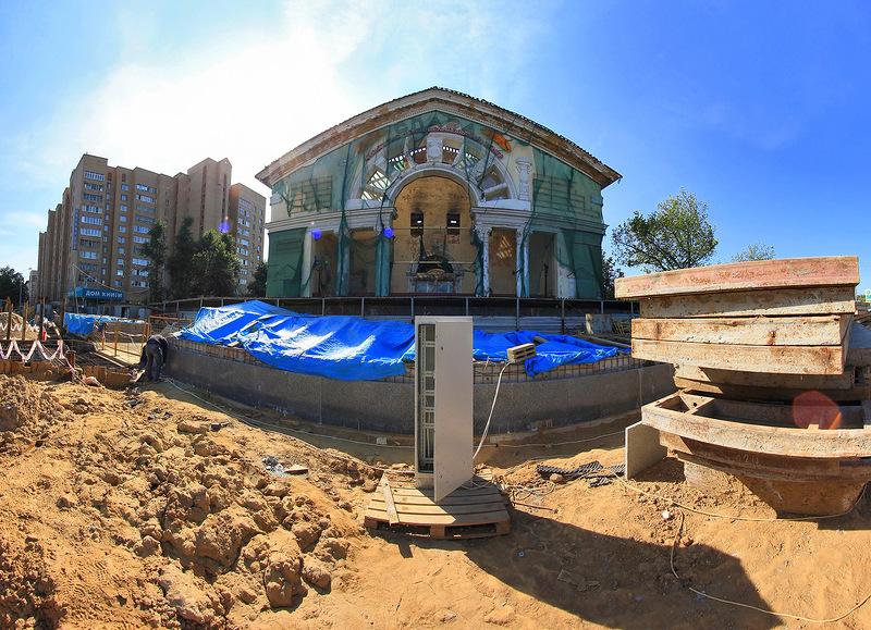 Здание сгоревшего кинотеатра «Слава» выставили на аукцион