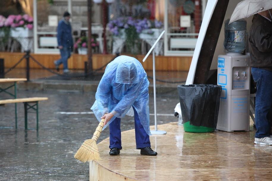 Проливные дожди с грозами ожидаются в Москве