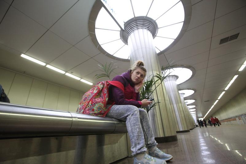 В российской столице  у 2-х  станций метрополитена пассажирам будут раздавать чай