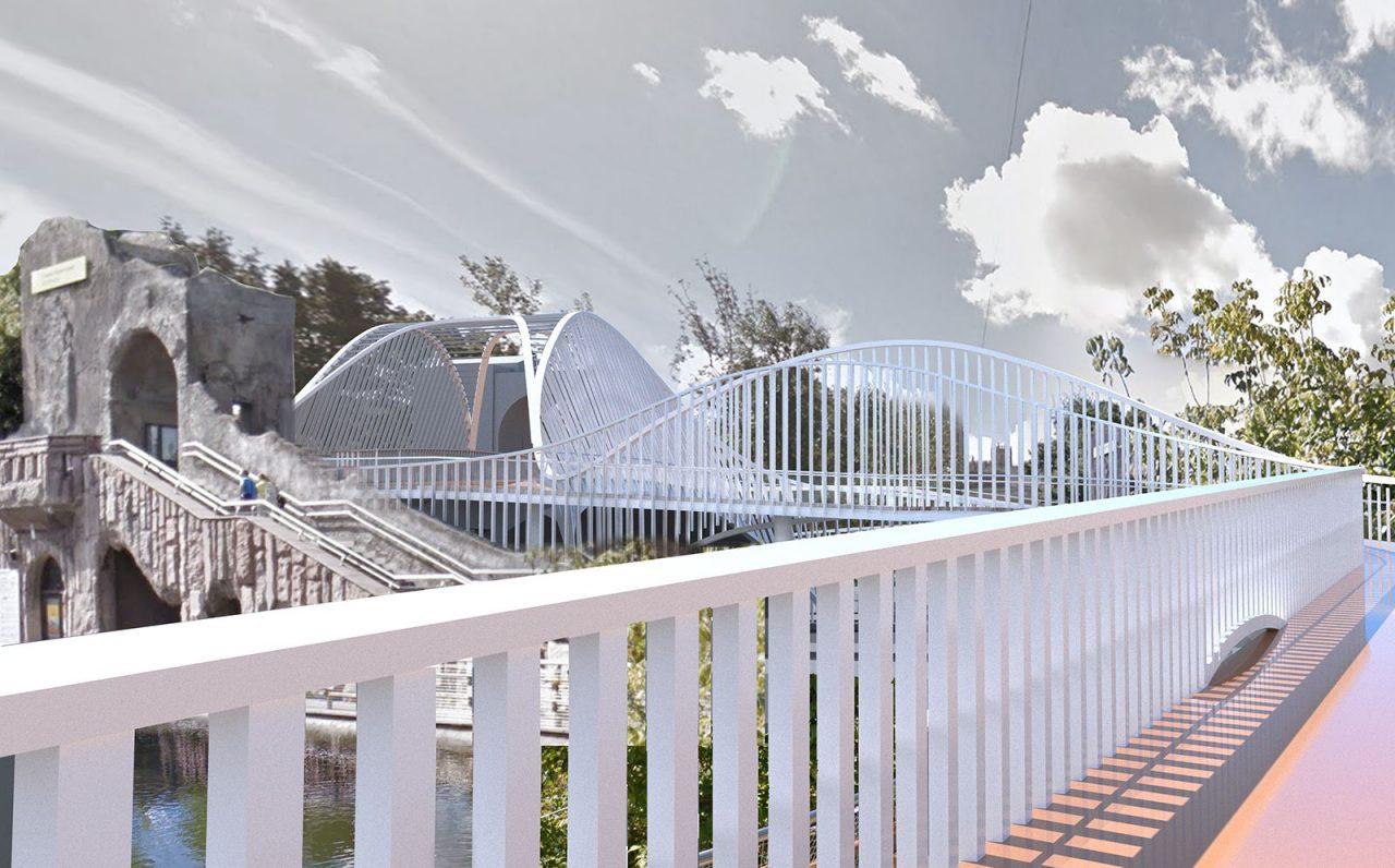 Мост-волна появится в Московском зоопарке