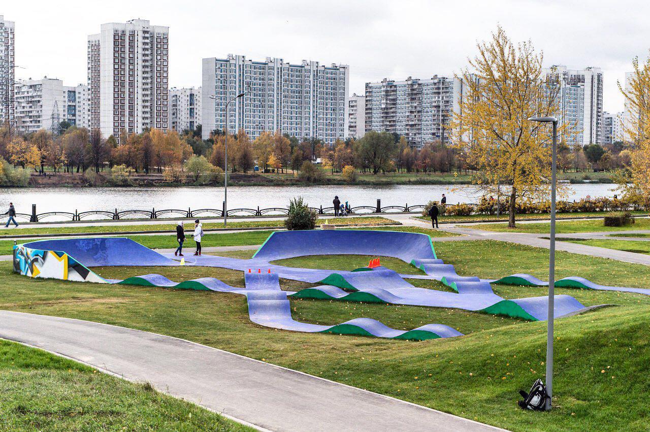 Мэр открыл парк 850-летия Москвы
