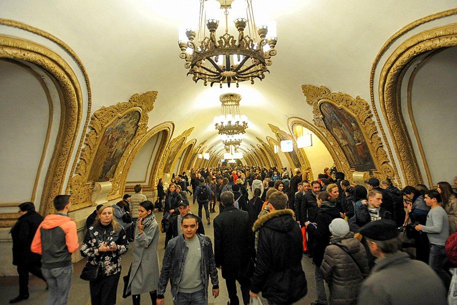 Метро Москвы стало одним из лидеров по информированию пассажиров