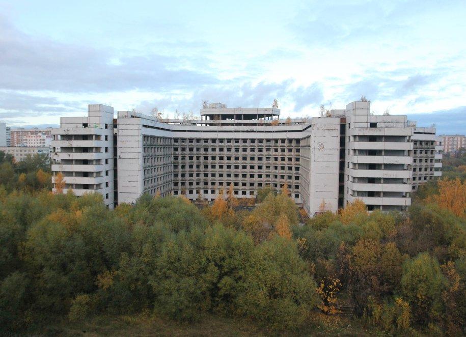 Строить жилье на месте Ховринской больницы начнут в 2018 году