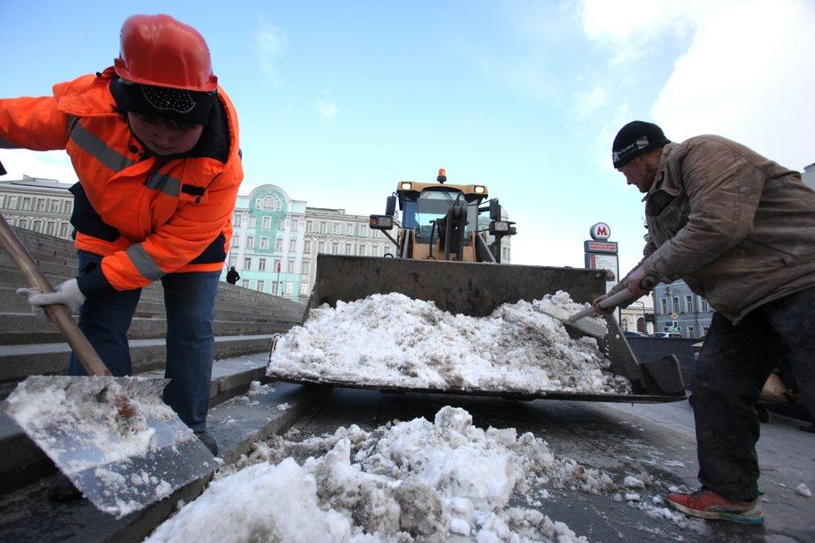 Треть месячной нормы выпало в столице за минувшие сутки