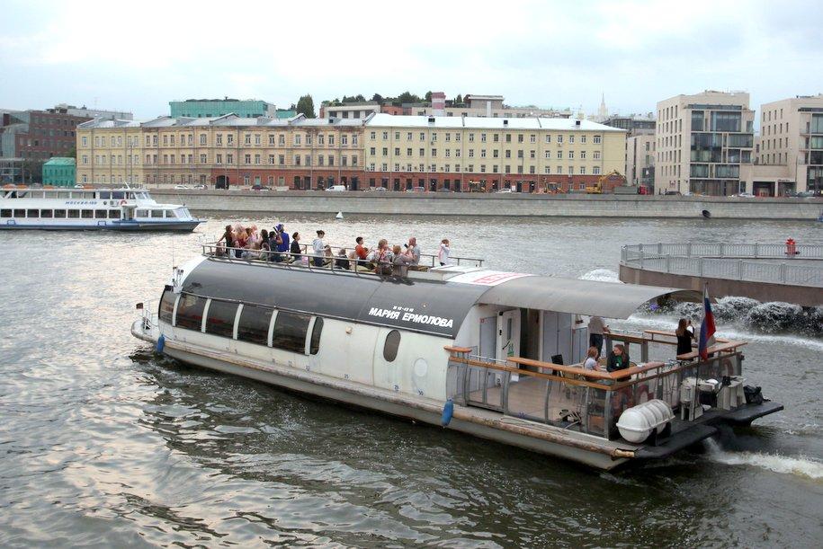 В Парке Горького стартовал первый праздник речной навигации