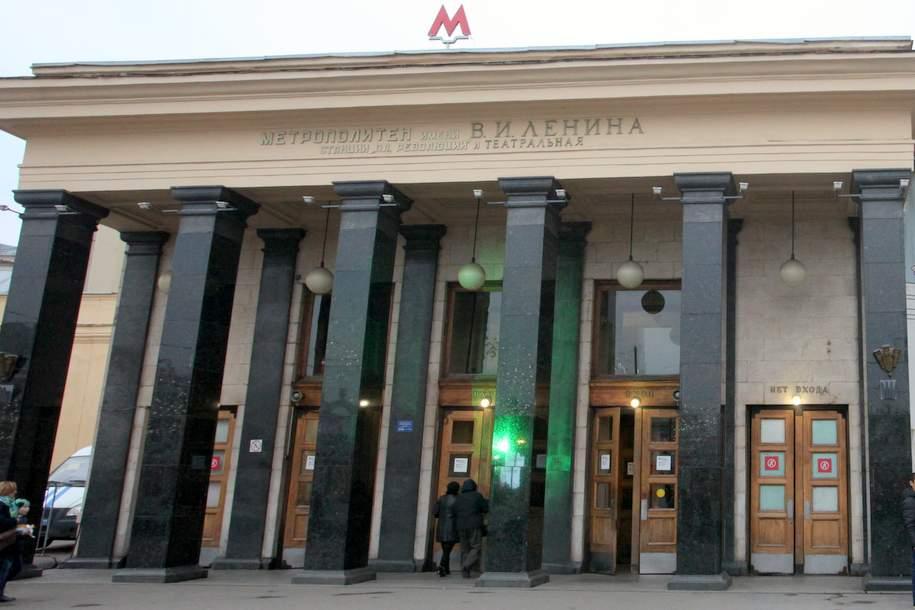 На станции метро «Площадь Революции» покажут панорамные видео о революции 1917 года