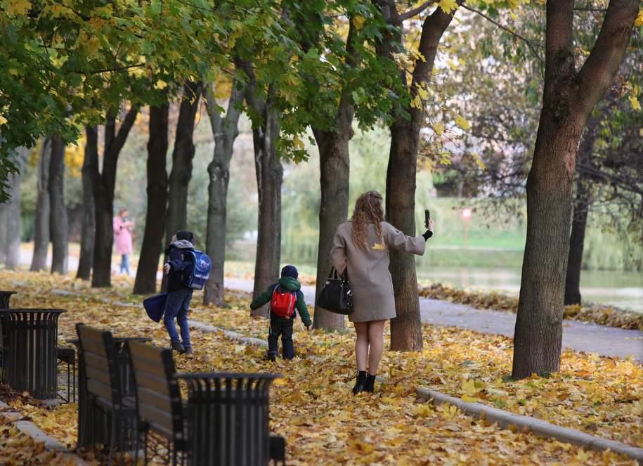 Температура в Москве выше нормы на 2-5 градусов