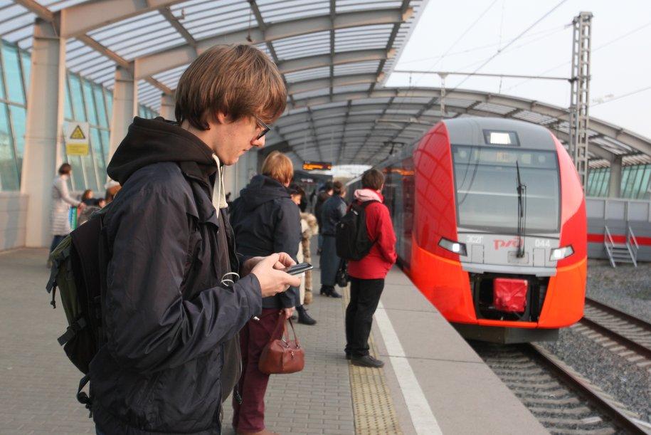 Поезда МЦК перевезли 100-миллионного пассажира с начала года