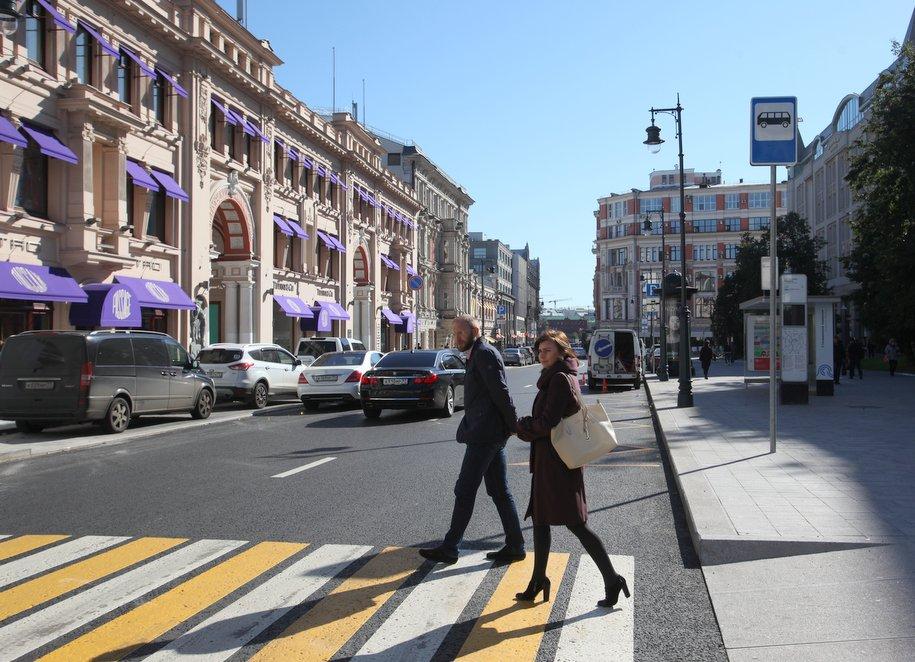 В центре Москвы перекроют движение с 29 декабря до 4 января