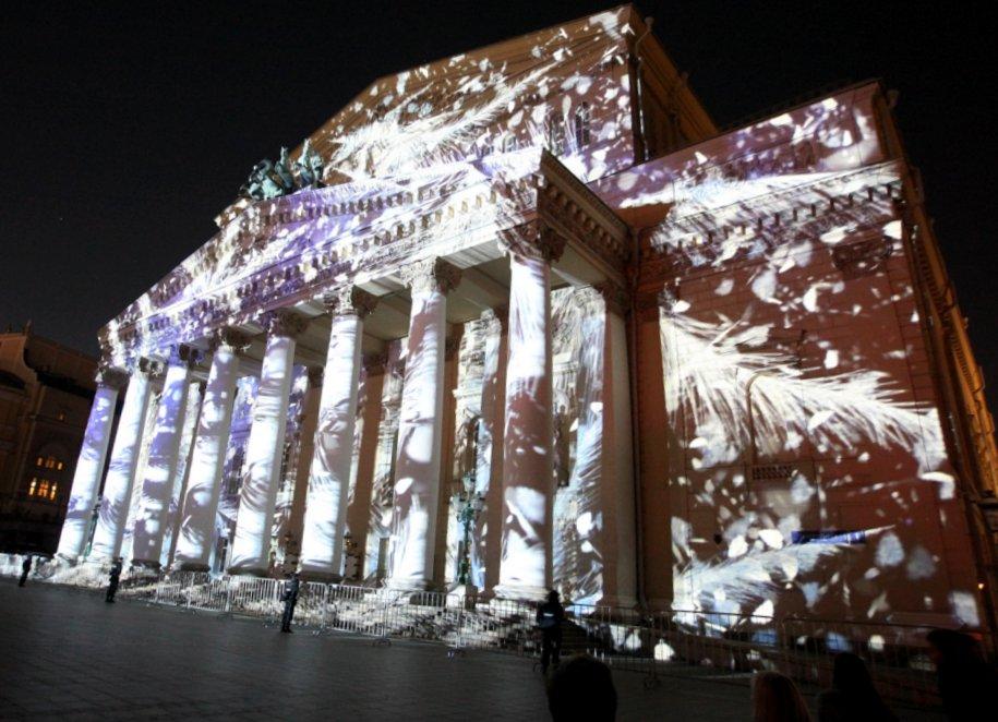 Арки в виде фасадов театров украсят «Путешествие в Рождество»