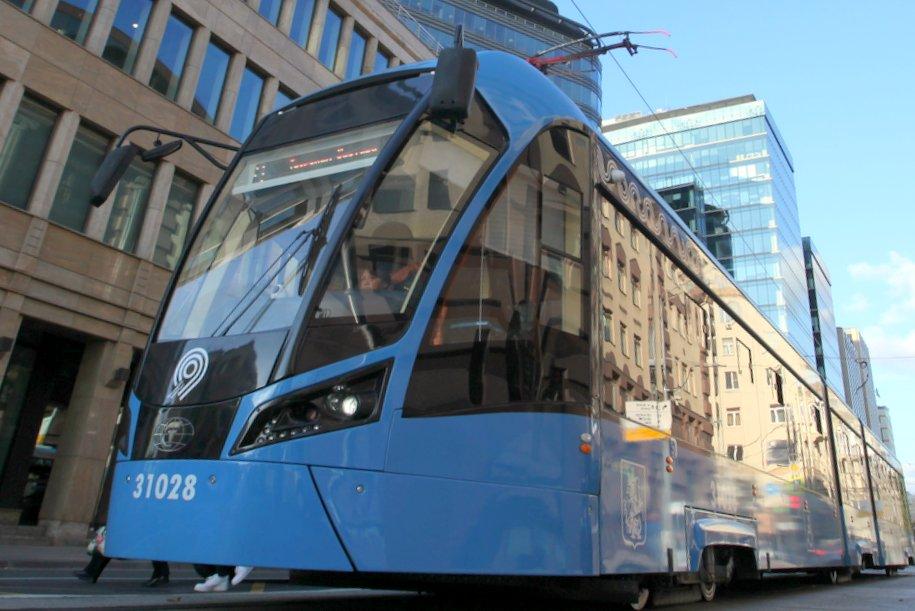 Первые трамваи с бесконтактной системой оплаты появились в Москве