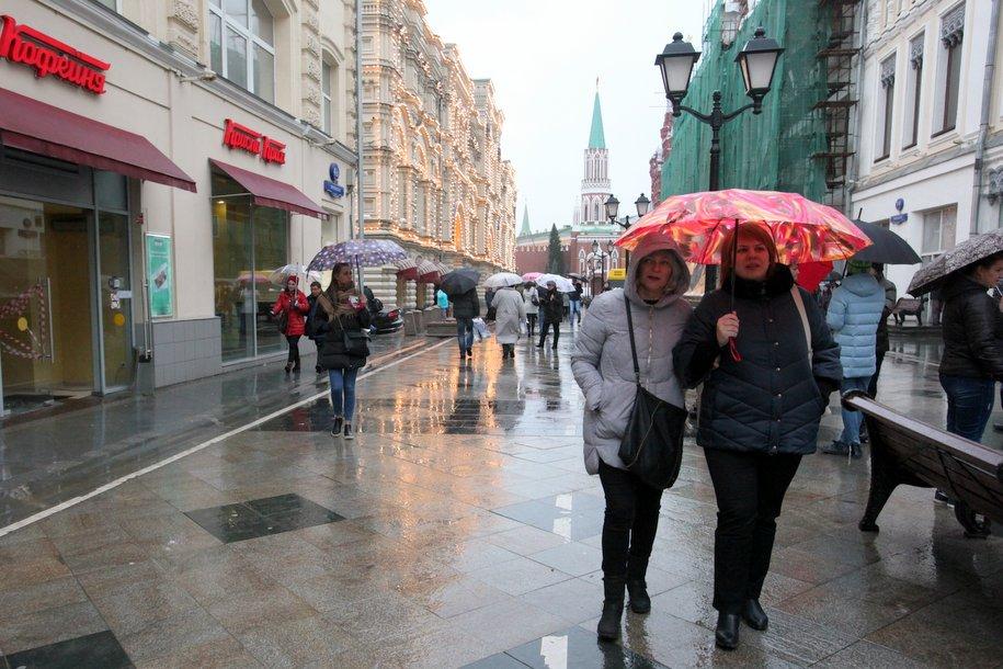 Облачная погода и до 5 градусов тепла ожидается сегодня в Москве