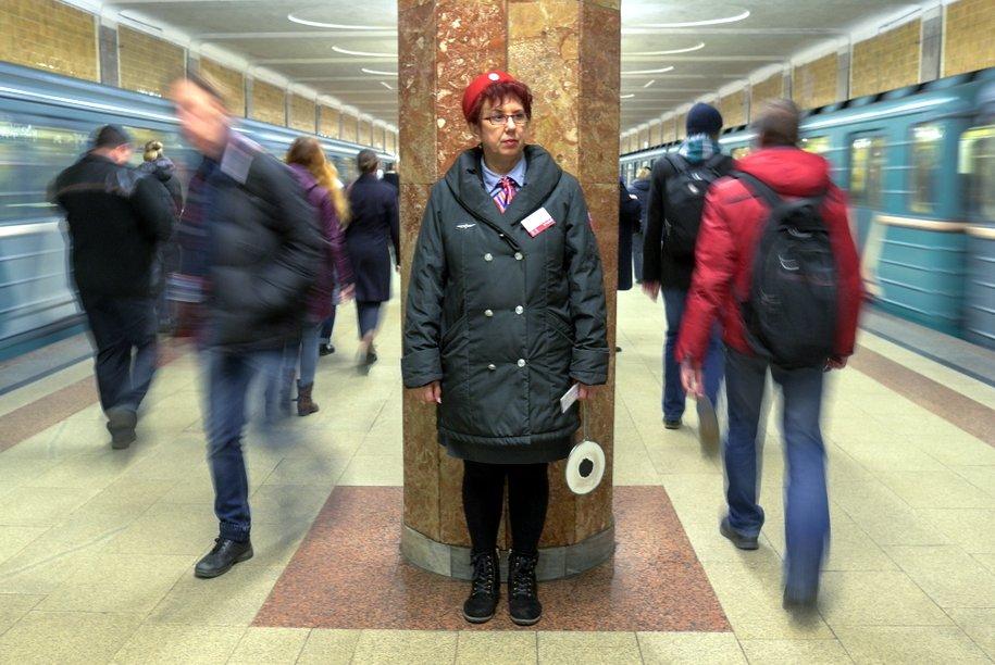 На «фиолетовой» ветке метро увеличены интервалы движения поездов
