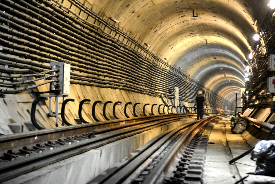 При проходке БКЛ заложены дополнительные возможности для проектирования новых веток метро