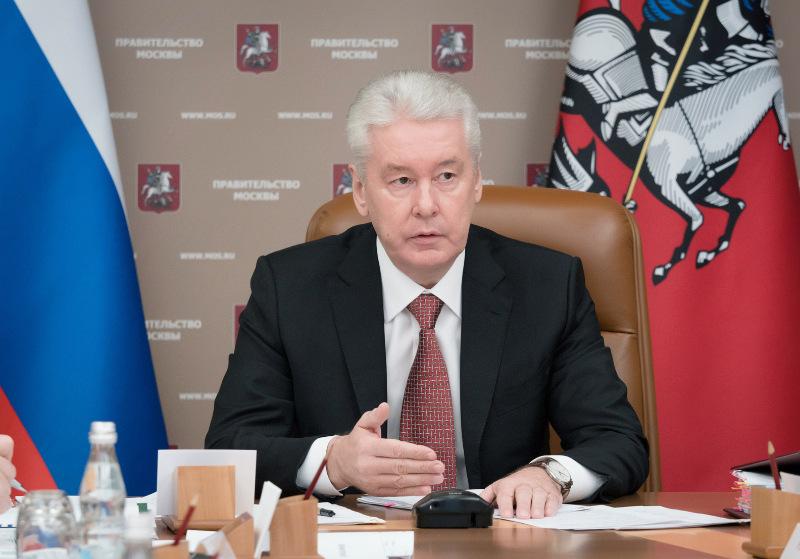 Собянин объявил оросте зарплат жителей столицы