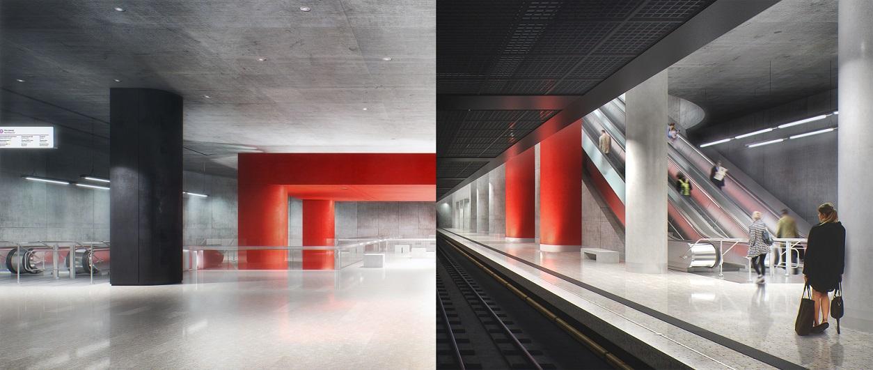 Станцию «Нижние Мневники» отделают бетоном