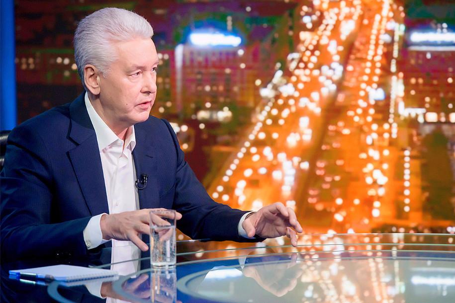 Сергей Собянин ответит на вопросы москвичей в прямом эфире 16 ноября